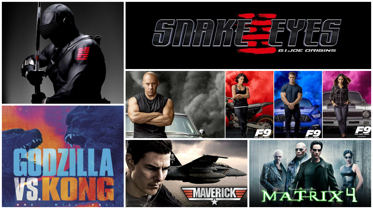 Action Movies in 2021